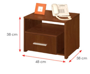 Wooden Wardrobe /Nightstands /Shoes Case /Side Cabinet (HX-DR336) pictures & photos