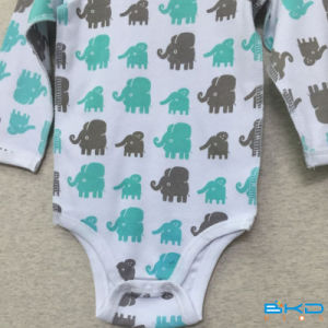 Printing Style Baby Clothes OEM Baby Bodys pictures & photos