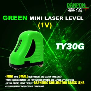 Green Vertical Laser Line (1V) Shanghai Danpon Ty30g pictures & photos