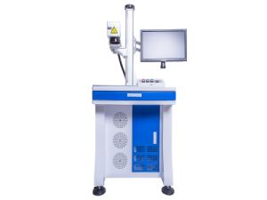 Low Price 10W 20W 30W 50W Fiber Laser Marking Machine for Metal and Nonmetal pictures & photos