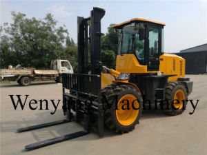 China New 5ton Good Offroad Rough Terrrain Forklift pictures & photos