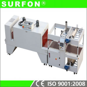 Carton Box Shrink Wrapping Machine for Frozen Shrimp pictures & photos