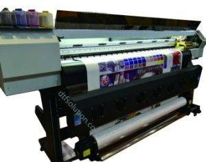 Digital Printer with Sublimation Ink pictures & photos