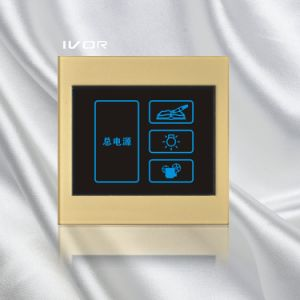 4 Gangs Lighting Touch Switch Acrylic Frame (SK-LT100L4) pictures & photos