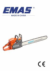 Emas 69cc Garden Tools Gasoline Chain Saw with Ce Certificate pictures & photos