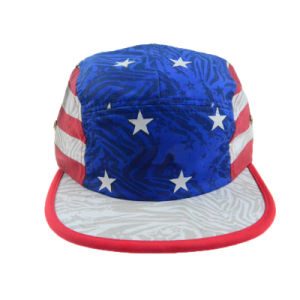 Custom Fashion Hat Ployester Camper Cap Supreme Five Panel Hat pictures & photos