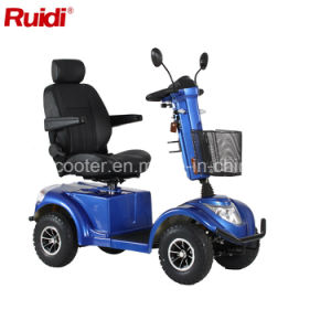 Full Suspension 4 Wheels Handicapped Scooter Cabin Mobility Scooter pictures & photos