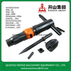 Kaishan G20 Hand Hold Portable Mining Air Pick Pneumatic Tools pictures & photos