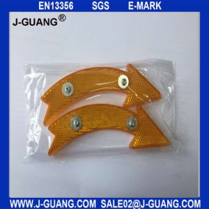 Retro Reflector for Bicycle, Wheel Reflector, Bicycle Parts (Jg-B-09) pictures & photos