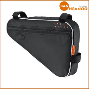 Bicycle Triangle Frame Packace Cycling Bag Simple Black Saddle Bag pictures & photos