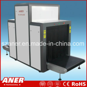 K100100 Large Tunnel X Ray Detector Equipment Machine Baggage Scanner pictures & photos