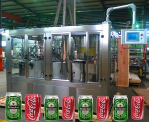 Carbonated Drinks Washing Filling Capping Machine for Cans pictures & photos
