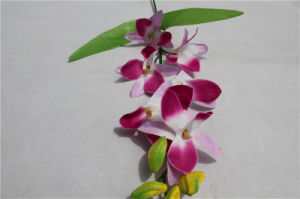2017 Hot Sell Phaleanopsis Orchid Artificial Flower pictures & photos