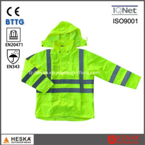 High Visibility Spring Waterproof Reflective Jacket pictures & photos