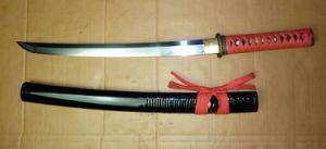 Handmade Karakusa Wakizashi/Japanese Real Sword pictures & photos
