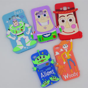 New Product, Fashion Romantic Cartoon Protective Silicone Case for iPhone 5 pictures & photos