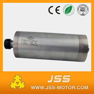 Water Cooling 85mm 220V 2.2kw Spindle Motor for Wood Engraving pictures & photos