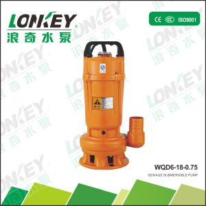 Wqd Sewage Submersible Water Pump for Building Site pictures & photos