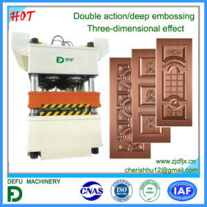 Double Action Hydraulic Press Machine for Metal Sheet pictures & photos