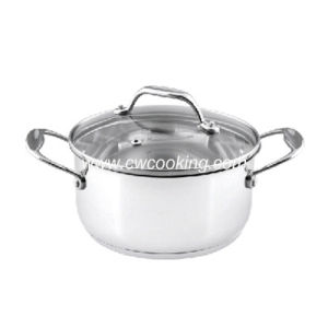 Stainless Steel Stock Pot with Induction Bottom pictures & photos