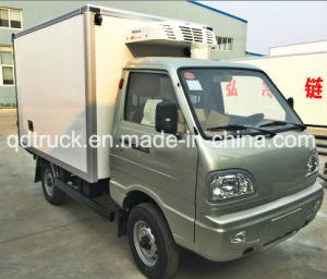 1ton Refrigerator Van Truck in Compact Mini Refrigerated Truck pictures & photos