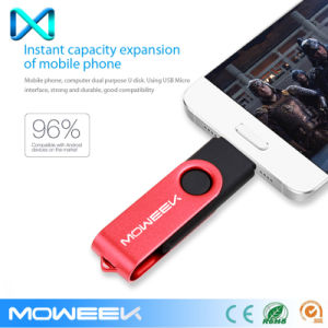 Swivel Android OTG USB Flash Pen Drive Stick pictures & photos
