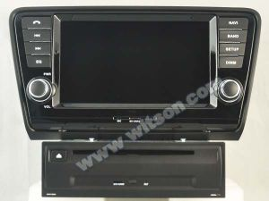 Witson Eight Core Android 6.0 Car DVD for Skoda Octavia 2013 pictures & photos
