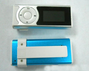 Mini Clip Screen Digital MP3 Player with LED Light/LED Torch pictures & photos