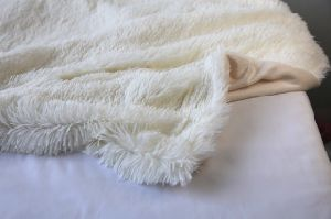 Bright Long Plush Hair Sytle PV Fleece Blanket pictures & photos