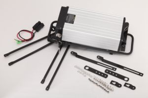 Rechargeable Electric Bicycle Lithium Li-ion Battery Pack 48V 20ah Rear Rack Type with 2A Charger pictures & photos
