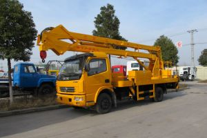 Aerial Work Vehicle 18m Boom Lift pictures & photos