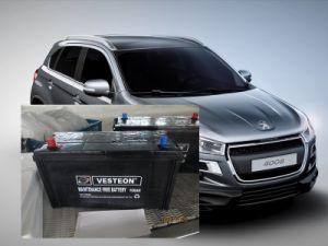 Korean 12V 75ah DIN75ah Maintenance Free Car Battery pictures & photos