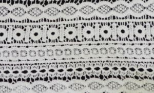 Newset Pattern Lace Fabric Embroidery Fashion and Beautiful E10004 pictures & photos