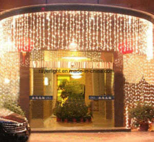 LED Outdoor Decoration Christmas Colorful Curtain Net Light pictures & photos
