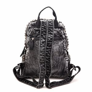 Trending Style Rivets Ladies Denim Backpack Bag (MBNO040037) pictures & photos