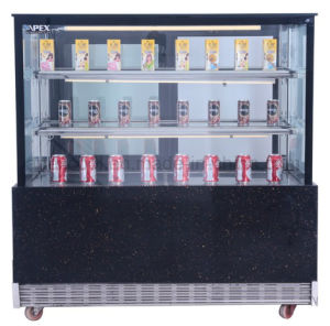 Apex Electric Cake Display Cabinet Cooler Showcase with LED Light pictures & photos