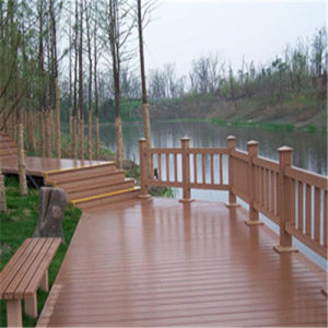 Low Maintenance WPC Composite Decking for Pool and SPA Surroundings