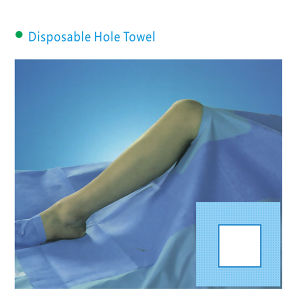 Non-Woven Disposable Hole Drape-Squar with High Quality pictures & photos