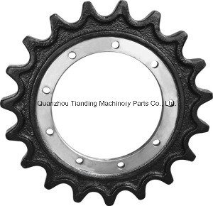 Gear Sprocket for Case Excavator Bulldozer Undercarriage Segment Gear Rim Machinery Parts pictures & photos