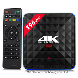 WiFi Android TV Box Amlogic S912 T96 PRO 3GB/32 GB Kodi 17.0 Preloaded Smart TV Box pictures & photos