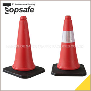 S-1202 50cm Road Safety PE Traffic Cone pictures & photos
