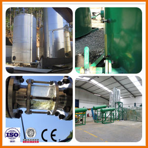 Jnc Tyre Pyrolysis Oil Recycling Plastic Oil Refining Distillation Machine pictures & photos