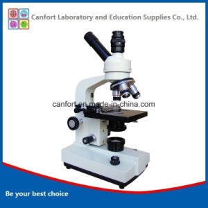 1600X High Quality Professional Biological Monocular Microscope with Camera Port pictures & photos