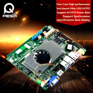 Fanless Industrial Embedded Baytrail J1900 Quad Core Motherboard pictures & photos