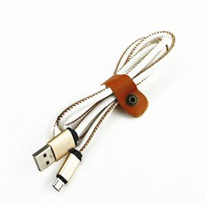 5V/2A Fast Charging Cord Micro USB Data Sync Cable with PU Covered pictures & photos