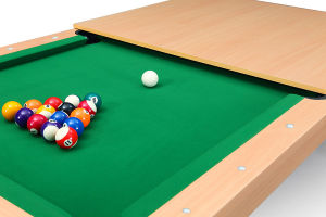 2 in 1 Dining Billiard Table 7FT pictures & photos