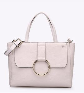 2017 New Design Ring-Metal Hand Bag Wholesale Women Bag Hcy-4048 pictures & photos