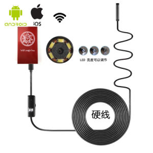 HD 720p WiFi Endoscope Inspection Snake Camera Borescope Video Inspection in Ios/Android/Windows PC pictures & photos