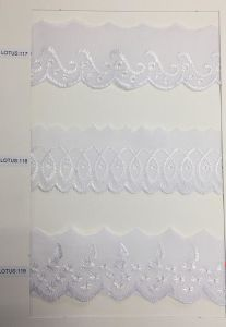 High Quality Fancy Elastic Lace, Lace Tape pictures & photos