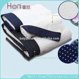 T-033 Custom Satin Cotton Velour Face Towel pictures & photos